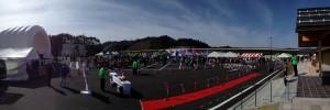 松江自動車道開通記念プレイベント&たたらば壱番地プレオープン 会場の様子
