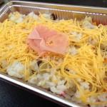 昼食は「まめなカー市」でゲットした奥出雲名物「焼き鯖寿司」!(*´∀`*)