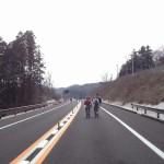 高速道路ウォーキング